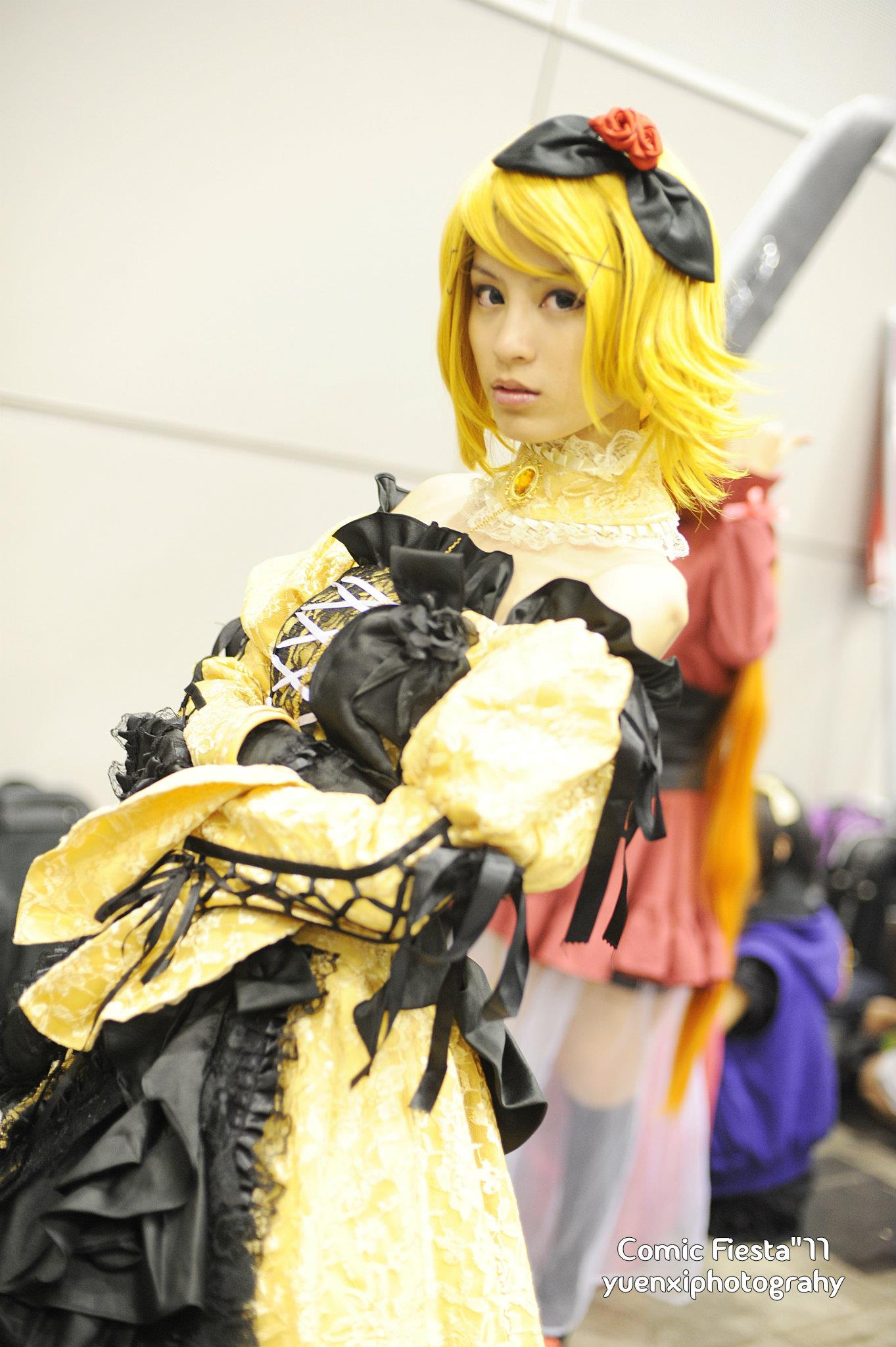 CF 2011  Kagamine Rin Daughter of Evil by xMinas3Kagamine Rin Daughter Of Evil Cosplay