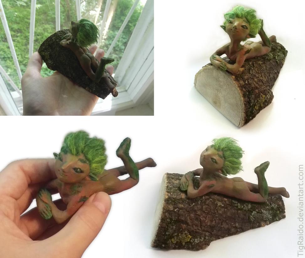 Little tree-man by TigRaido