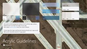Windows 10 Acrylic - Fluent Design Guidelines