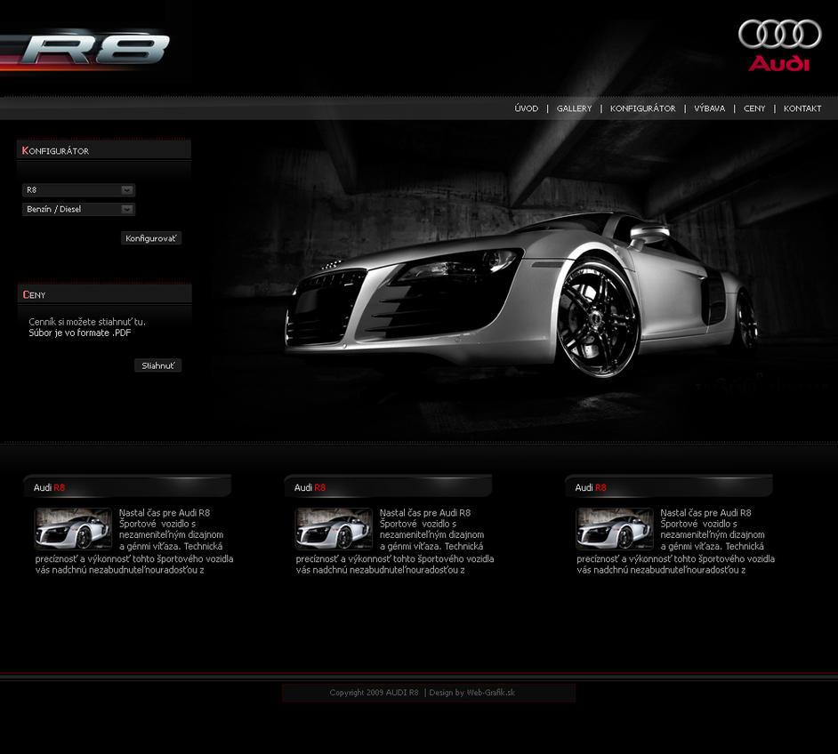 Audi R8 by Kurty01