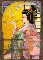 Oiran by koharu-tachibana