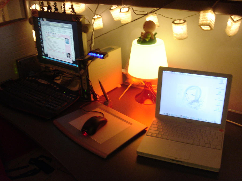 Desktop by Kagetsuki