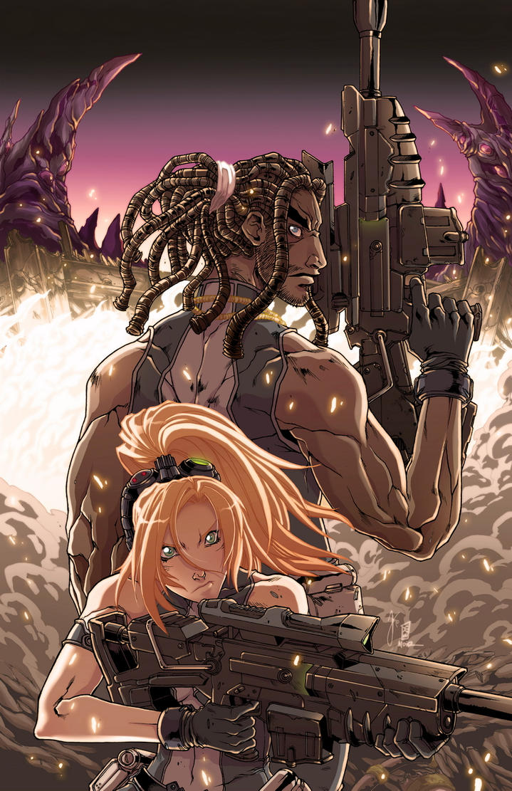 Starcraft_GA_vol2_Cover by creid-03