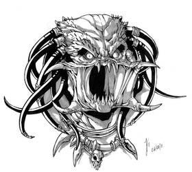 Predator_Portrait by creid-03