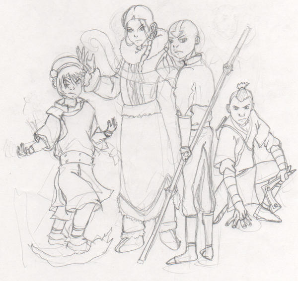 My latest project avatar the last airbender