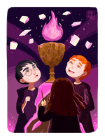 Harry Potter and the Goblet of Fire illustration 1 by XxInterxX