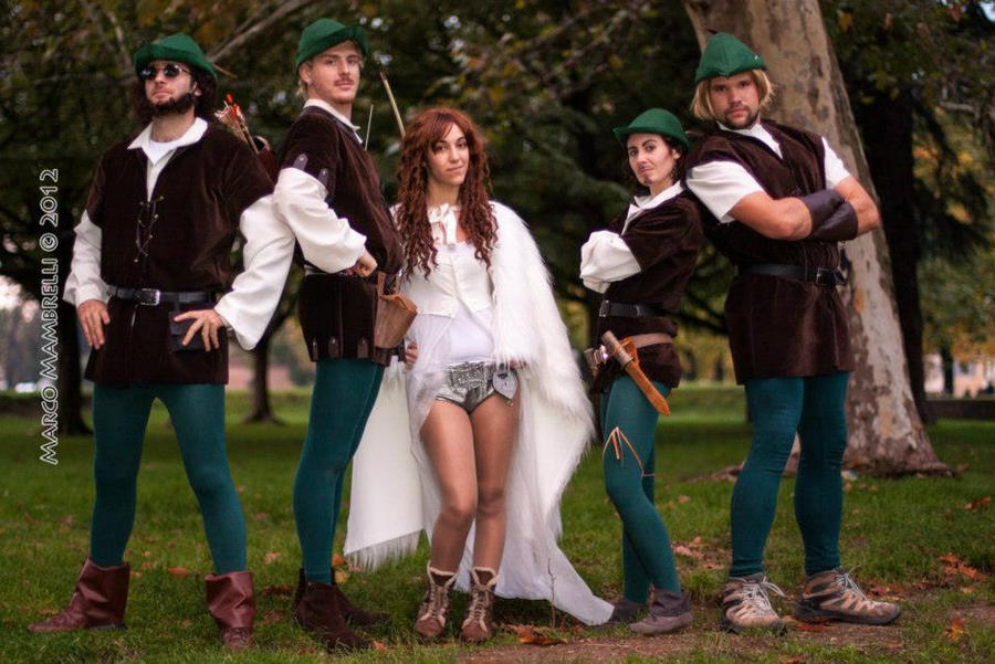 Robinhood Men in tights