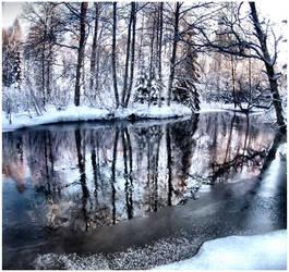 river .. ... . by KariLiimatainen