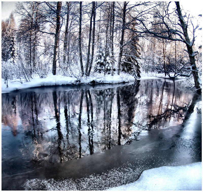 river .. ... . by KariLiimatainen