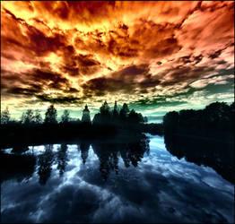 heaven or hell .... by KariLiimatainen