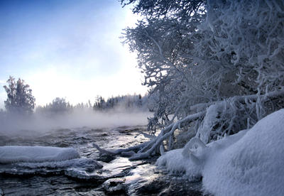 misty rapids by KariLiimatainen