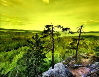 High mountain .. by KariLiimatainen