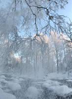 heavy snow by KariLiimatainen
