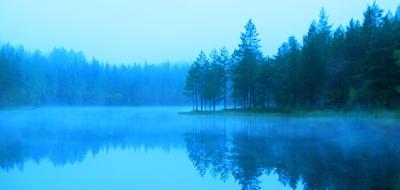 morning mist by KariLiimatainen