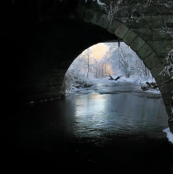 view under the bridge by KariLiimatainen