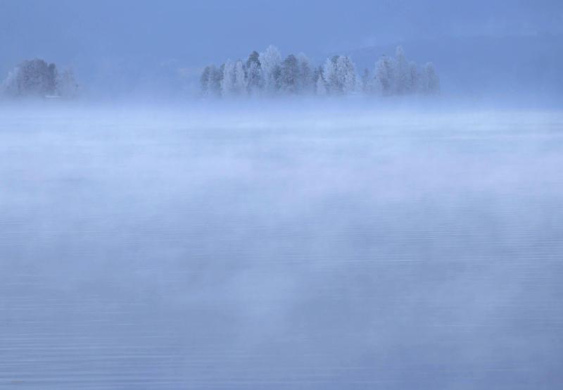 Island Mists by KariLiimatainen