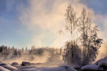 misty rapids .. by KariLiimatainen