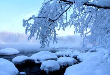 blue winter by KariLiimatainen