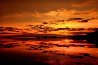 calm water by KariLiimatainen