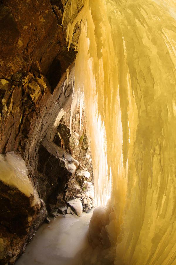 ice cave by KariLiimatainen