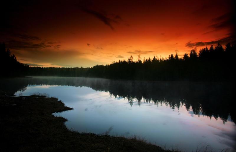 warm summer night by KariLiimatainen