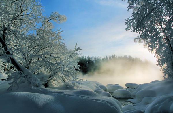 winter landscape by KariLiimatainen