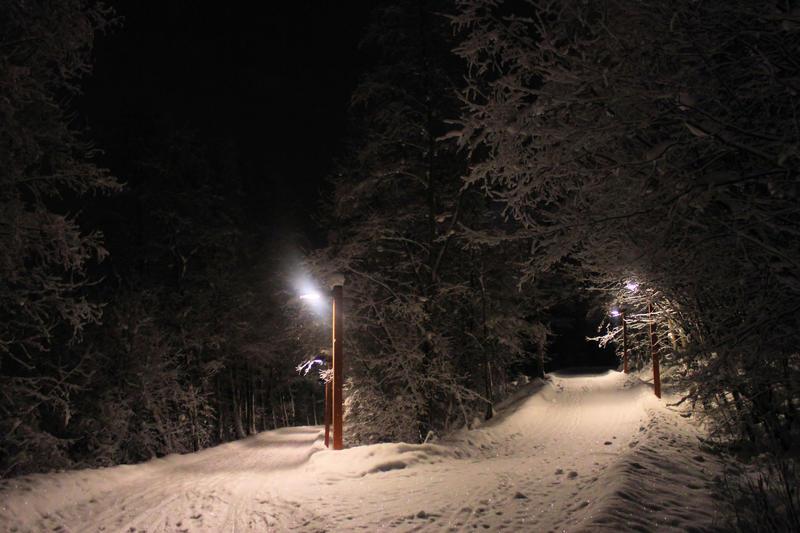 Christmas night II by KariLiimatainen