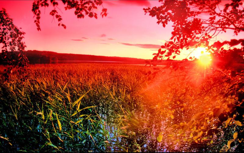 A warm summer evening by KariLiimatainen