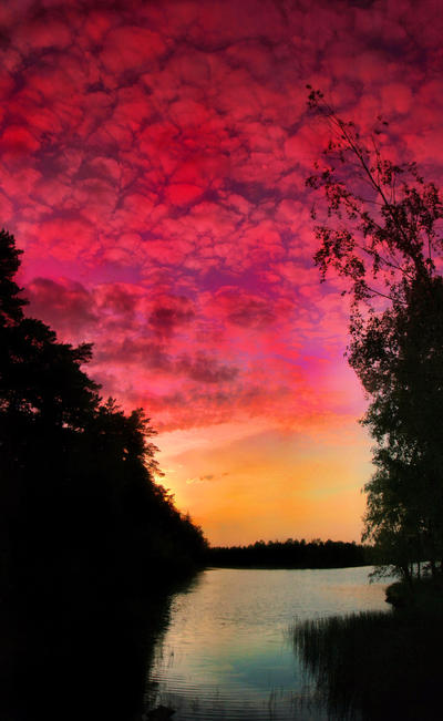 Finland summer night by KariLiimatainen