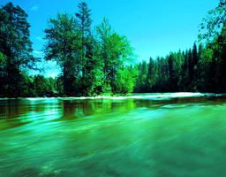 green river by KariLiimatainen