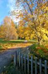 Calm autumn day.