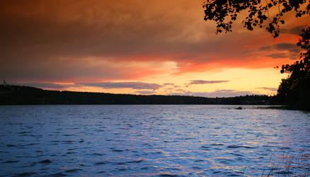 Summer night. by KariLiimatainen