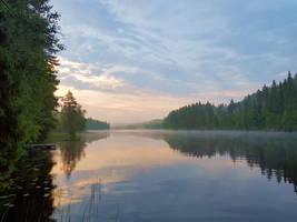 Summer morning by KariLiimatainen