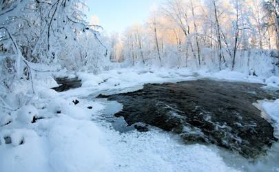 Winter in Finland . .