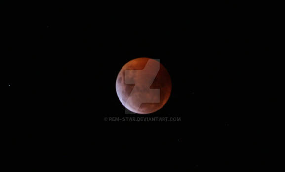 Total lunar eclipse (20/01/2019)