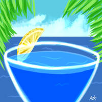 Blue Pacific Margarita