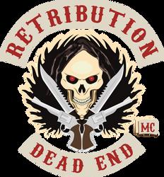 [COMMISSION] Retribution MC logo reconstruction