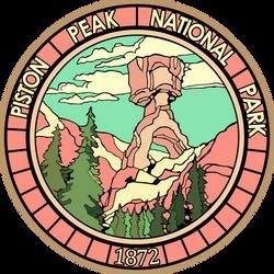 [COMMISSION] Piston Peak National Park logo