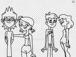 Total drama summertime fun  sketch 1