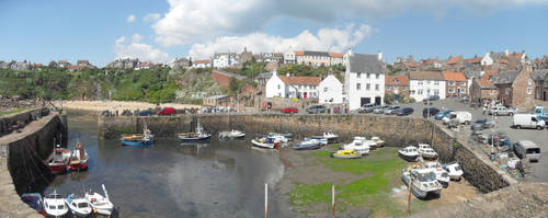 Crail Harbour by leeb9972