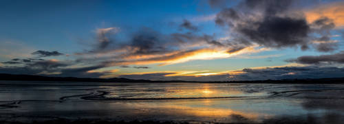 Sunset over Kingoodie Bay by leeb9972