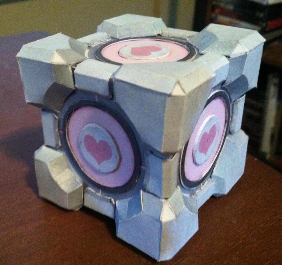 Companion Cube by n8s