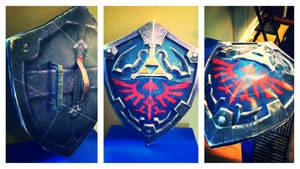 Papercraft Hylian Shield