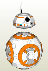 Bb-8 Papercraft by n8s
