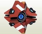 Destiny Frontier Ghost Papercraft