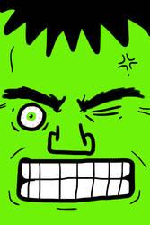 Hulk by saleemnoorali