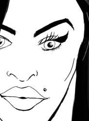 Amy Winehouse by saleemnoorali