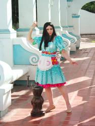 Siren dress by gyanax