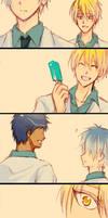[Kise x Kuroko]Your smile