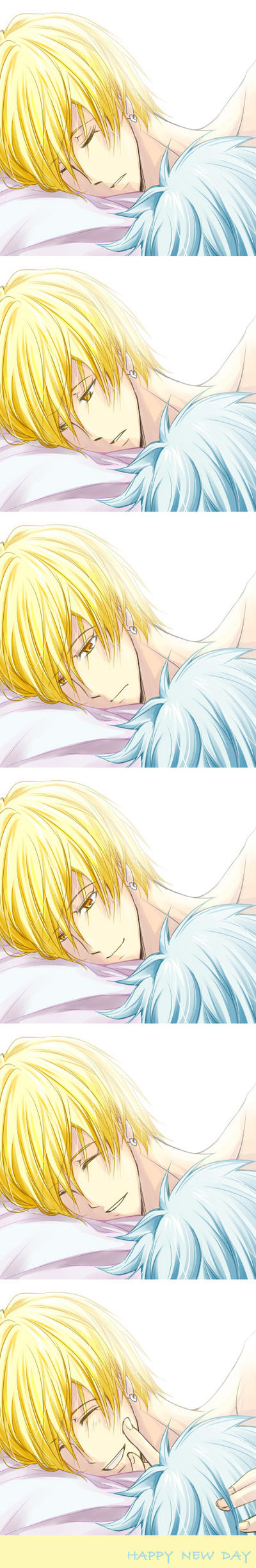 [Kise x Kuroko] GOOD MORNING by ryuuhta
